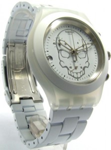 Swatch Full-Blooded White Skull - SVCW4000AG